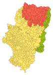 carte linguistique Aragon