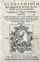 Don Quichotte Don Quixote Cervantes Lexilogos
