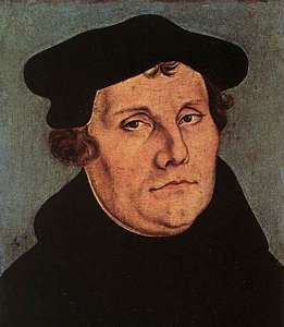 Luther par Cranach