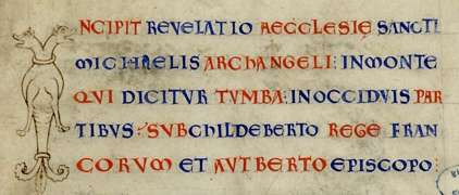 manuscrit latin