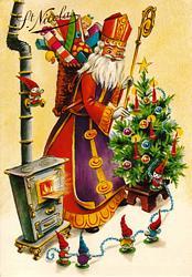 P re no l santa claus saint nicolas origine lexilogos - Image de saint nicolas a imprimer ...