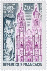 timbre Saint-Nicolas-de-Port 1974