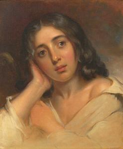 George Sand par Thomas Sully